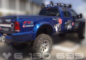 брендирование грузового авто
